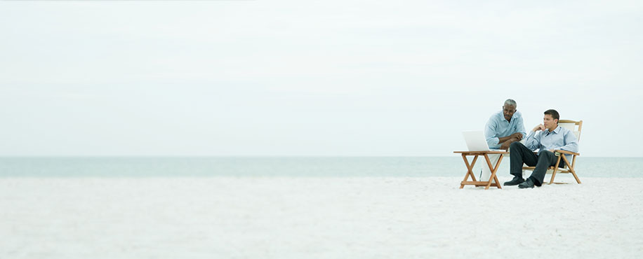 Coaching page banner image - Sea/Waves